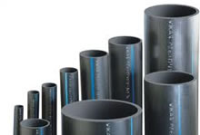 HDPE Pipes - High Density Polyethylene Water Pipe Fittings